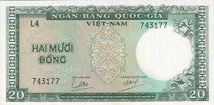 SUD-VIETNAM : 20 DONG 1964 NEUF - P.16