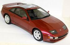 Ls Collectib 1/18 Escala Nissan ZX300 TWIN TURBO Coche Modelo de Resina Rojo Cereza Perla