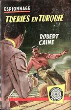 Arabesque Espionnage 180 - Robert Caine - Tueries en...- EO 1961 - Jef de Wulf
