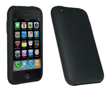 Housse Etui Silicone (NOIR) ~ Apple iPhone 3G / iPhone 3GS
