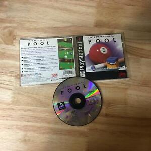 Virtual Pool PS1 Playstation 1 PS1 In box