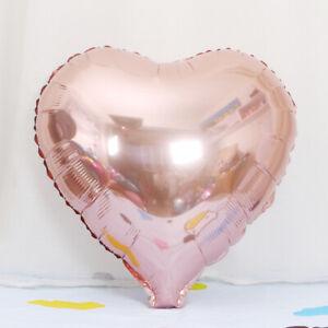 "18"" Heart Foil Balloon Birthday Wedding Baby Shower Party Celebration Mylar"