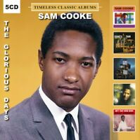 SAM COOKE - THE GLORIOUS DAYS - Five Timeless Classic Albums (5 CD) NEW SEALED