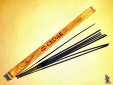 Encens bois de cèdre bâtonnets - Renforce la confiance en soi