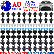 100X Trim Clips Grille Sill Mud Flap Lining Fastener Push Rivet For Toyota&Lexus