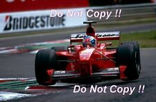 Mika Salo Ferrari F399 Belgian Grand Prix 1999 Photograph