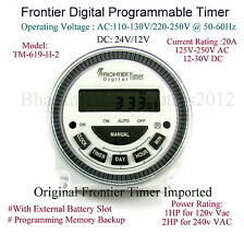 Frontier Digital Timer Multipurpose  Programmable Timer 4-Pin  Made in Taiwan