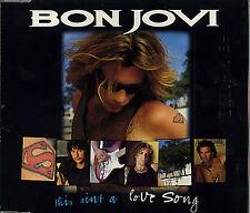 Bon Jovi This Ain't A Love Song RARE CD Single