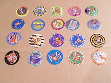 CHEESE DOODLES POGS COMPLETE SET of ALL 20 RARE