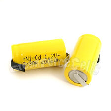 12 AA Ni-Cad Cd 1.2V 2/3AA 400mAh rechargeable battery