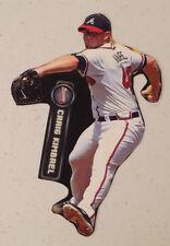 "Craig Kimbrel #46 Mini Fathead Braves 7"" Inch w/ Nameplate & Sign Wall Graphics"