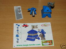 KINDER C-33 C33 FUNNY CASTLE RITTER + BPZ + STICKERS