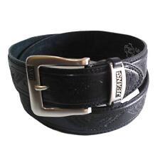 Adler Gürtel Ledergürtel Hüftgürtel Fashiongürtel Mode Schwarz für Hose Jeans