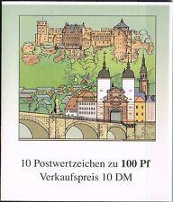 MH 33 **, Markenheftchen, BRD 1996, Heidelberg