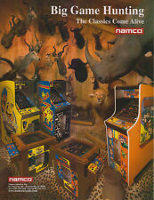 NAMCO BIG GAME HUNTING VIDEO FLYER