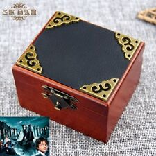 Vintage Square Black Cover ♫ Harry Potter Hedwig's Theme  ♫  Wind Up Music Box