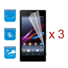 For Sony Xperia Z1 Compact / Mini Screen Protector Cover Guard LCD Film Foil x 3