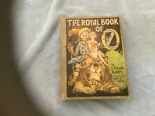 Wizard of Oz , The Royal book of Oz 1921, 12 color plates Reilly and lee