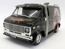Highway 61 1/18 Scale - 39250171 1974 Chevy Custom Van Black