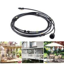 Mist Cooling System Outdoor Water Greenhouse Mister Portable Garden Patio Cools