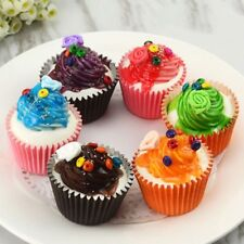 Realistic Artificial Cupcake Fake Cake Model Display Photography Props Decor