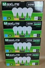 16 pack LED Light Bulbs New 60 Watt Equivalent A19 Dimmable Soft White 2700k Lot