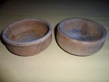 Ciotole in legno portamonete svuotatasche vintage