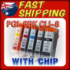 15 x INK CARTRIDGE PGI 5bk CLI8 for Canon MP610 MP800 MP800R MP810 MP830 Printer