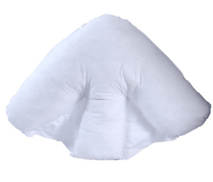 Orthopedic Batwing pillow Neck Back Support, HollowFibre Fill Soft Flufy Cushion