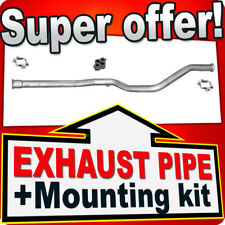 Centre Pipe PEUGEOT 307 2.0 HDI TD 107/110 PS Estate 2002-2005 Exhaust NNH