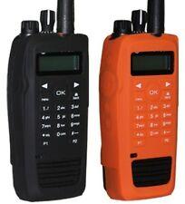 New Radio Grips Mototrbo Xpr6550 Series Full Keypad Silicone Case Orange