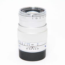 Carl Zeiss Tele-Tessar T* 85mm F/4 ZM Silver (for Leica M mount) #70