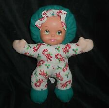 "11"" VINTAGE MATTEL LOVABLE BABIES BABY DOLL CHRISTMAS STUFFED ANIMAL PLUSH TOY"