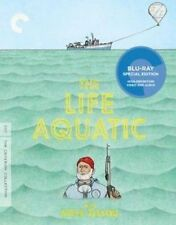 Life Aquatic With Steve Zissou Blu Ray Region 1 Shipp
