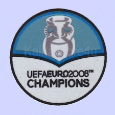 UEFA Euro 2012-2008 Champions Spain Football Sleeve Soccer Patch / Flock Badge