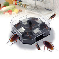 1PC Automatic Cockroach House Insects Bugs Capture Bait Trap Killer Catcher Box