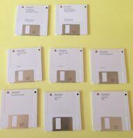Apple Mac System 6.0 Word Excel Floppy Disks Vintage extras Allsop Case