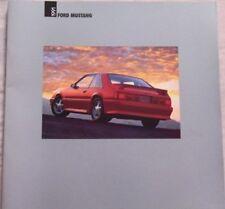 1991 91 Ford Mustang original sales brochure