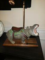 PJ's Carousel Hippopotamus - Protected Wildlife Carousel Series - Super Rare!!!