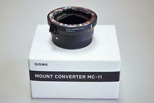 Neues AngebotSigma MC 11 Adapter Canon EOS auf Sony e-mount neu