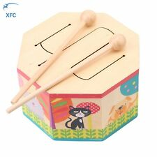 Tin Drum Musical Instrument Toy Perfect Children Play Fun Game