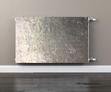 Crushed Velvet - Silver - Magnetic Radiator Cover - Radwrap