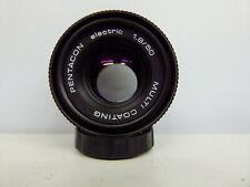Pentacon ELECTRIC MC 1.8 50mm M42 mount Prime lens EXCELLENT