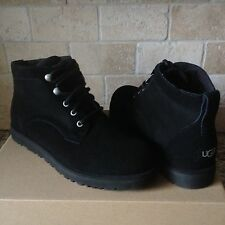 UGG BETHANY CLASSIC SLIM BLACK SUEDE SHEEPSKIN BOOTS SHOES SIZE US 8.5 WOMENS