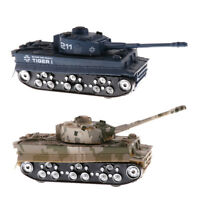 2 Pieces 1/32 Scale German Tiger Tank Model WWII Heavy Panzer Kids Toys