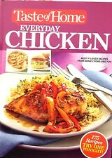 Taste of Home Everyday Chicken Cookbook new hardcover delicious Recipes!