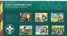 GB Presentation Pack 400 Scout Centenary 2007 10% OFF ANY 5+