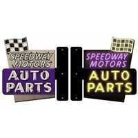 Speedway Motors Steel Flange Sign