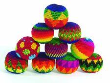 Fair Trade SET 6 Haki Hacky Sack Juggling Stress relief Balls circus skills toy