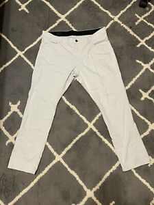 NIKE Golf Modern Fit Light Grey Pants Dri-Fit 833190-012 Men's Size 36 x 30
